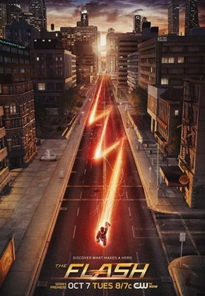 The Flash Is As Fast As Lightning In The Newest Poster