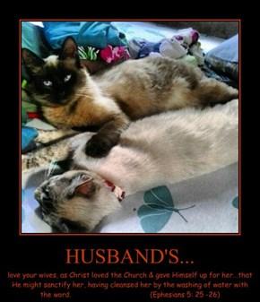 HUSBAND'S...