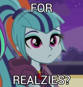 You not gonna watch Rainbow Rocks?