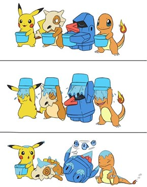 Pokémon ALS Ice Bucket Challenge