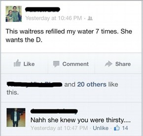 Have Her Refill Your Water for That Burn