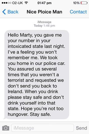 Some Cops Understand What It's Like to Be Blackout Drunk