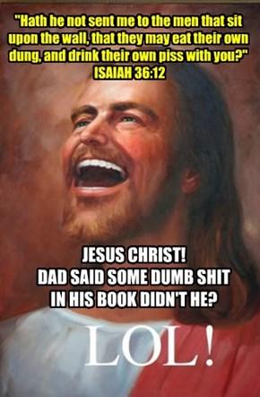 Dumb sh*t. LOL...