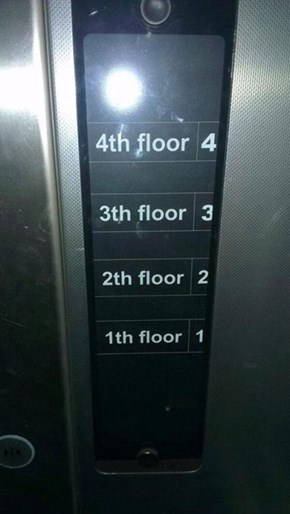 My Office is on the Thirth Floor
