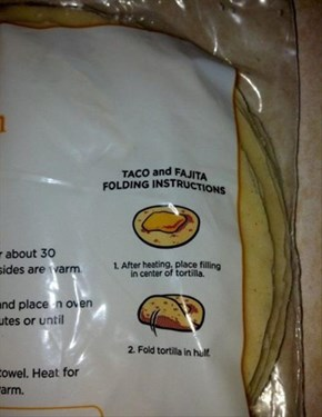 """""""Tortilla Instruction Writer"""" is the Easiest Job Ever"""