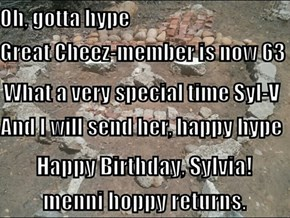 Happy Birthday, Sylvia!