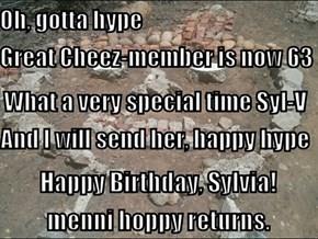 Happy Birthday, Sylvia!