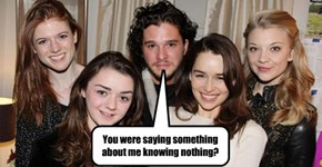 You know something, Jon Snow #gameofthrones #jonsnow