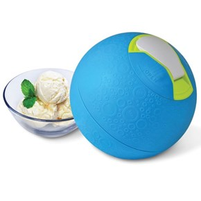 The Kickball Ice Cream Maker Will Have You Kicking and Screaming for Ice Cream