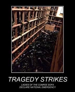 TRAGEDY STRIKES