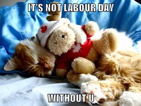IT'S NOT LABOUR DAY  WITHOUT U
