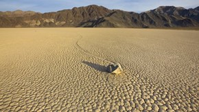The Sailing Rocks of Death Valley