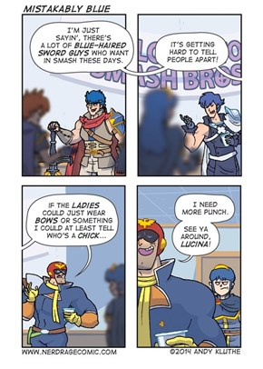 Captain Falcon Makes an Honest Mistake