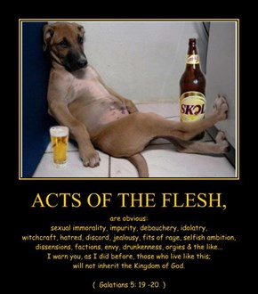 ACTS OF THE FLESH,