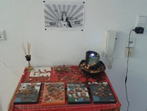 We created an altar for Gaben