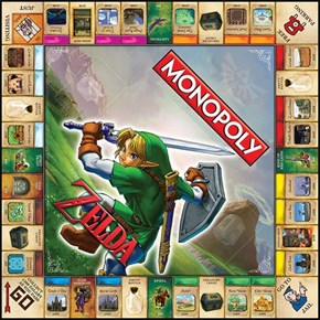 Legend of Zelda Monopoly Coming September 4