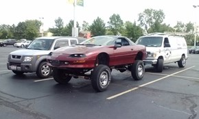 Saw this in the Thrift Store parking lot...