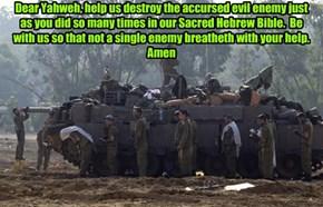 IDF amen...