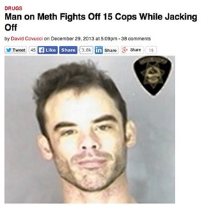 Meth...Maybe Once