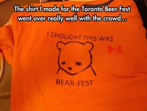 Cheer Up, Bear, There's Beer!
