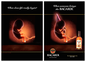 Bacardi Ads Are Getting Crazy