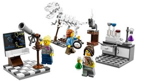 LEGO Releases the Female Science Set