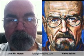 Stu Pitt Moran  Totally Looks Like Walter White