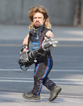 10 Ways Peter Dinklage With a Mullet and a Laser Cannon Can Get Even Better