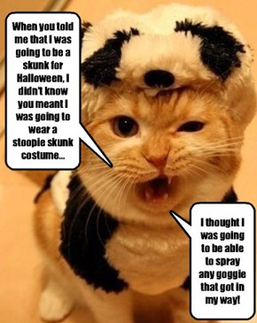 This is the worst Halloween, EVER!