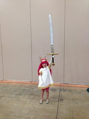 Child of Light Has a Big Ole Sword