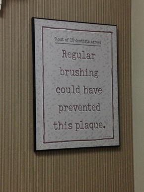 Imagine What Flossing Could Do!