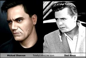 Michael Shannon Totally Looks Like Desi Arnaz