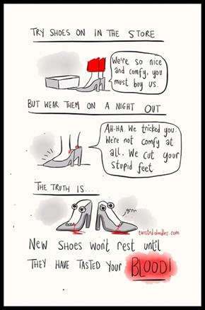 The Dark Side About Shoes