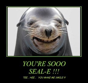 YOU'RE SOOO SEAL-E !!!