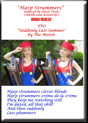 """Harp Strummers"" (TTO ""Suddenly Last Summer"" by The Motels)"