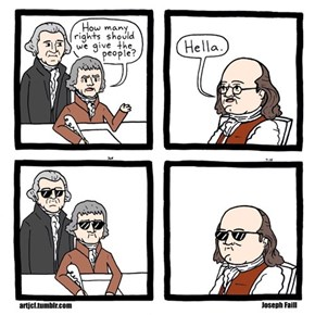During The Writing of The Constitution