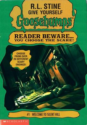 Video Games as Goosebump Covers