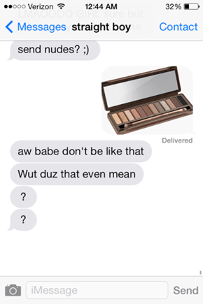 That Does Not Whet My Palette