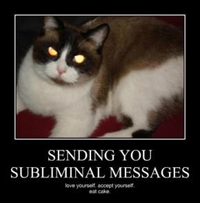 SENDING YOU SUBLIMINAL MESSAGES