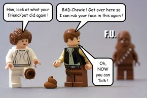 Chewie speaks!