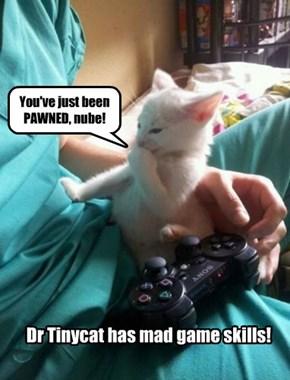 Rub it in, Doc!