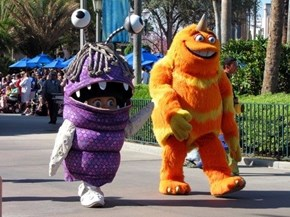 This Boo From Monsters, Inc. is Cosplay Inception