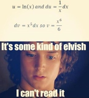 It's Worse than Elvish, It's Algebra
