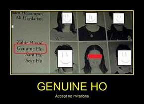 GENUINE HO