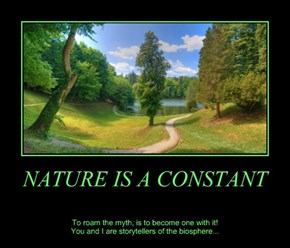 NATURE IS A CONSTANT