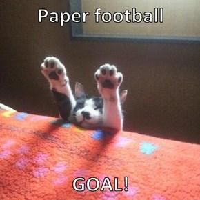Paper football   GOAL!