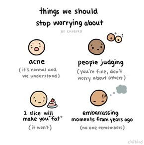 Some Advice About Things That People Worry About