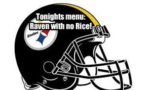 Tonights menu:  Raven with no Rice!