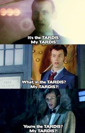 The Doctor's a Little Possessive