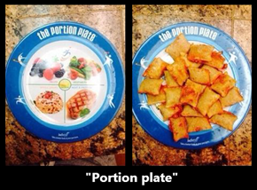 "Pfffff. ""Portions."" Whatever!"